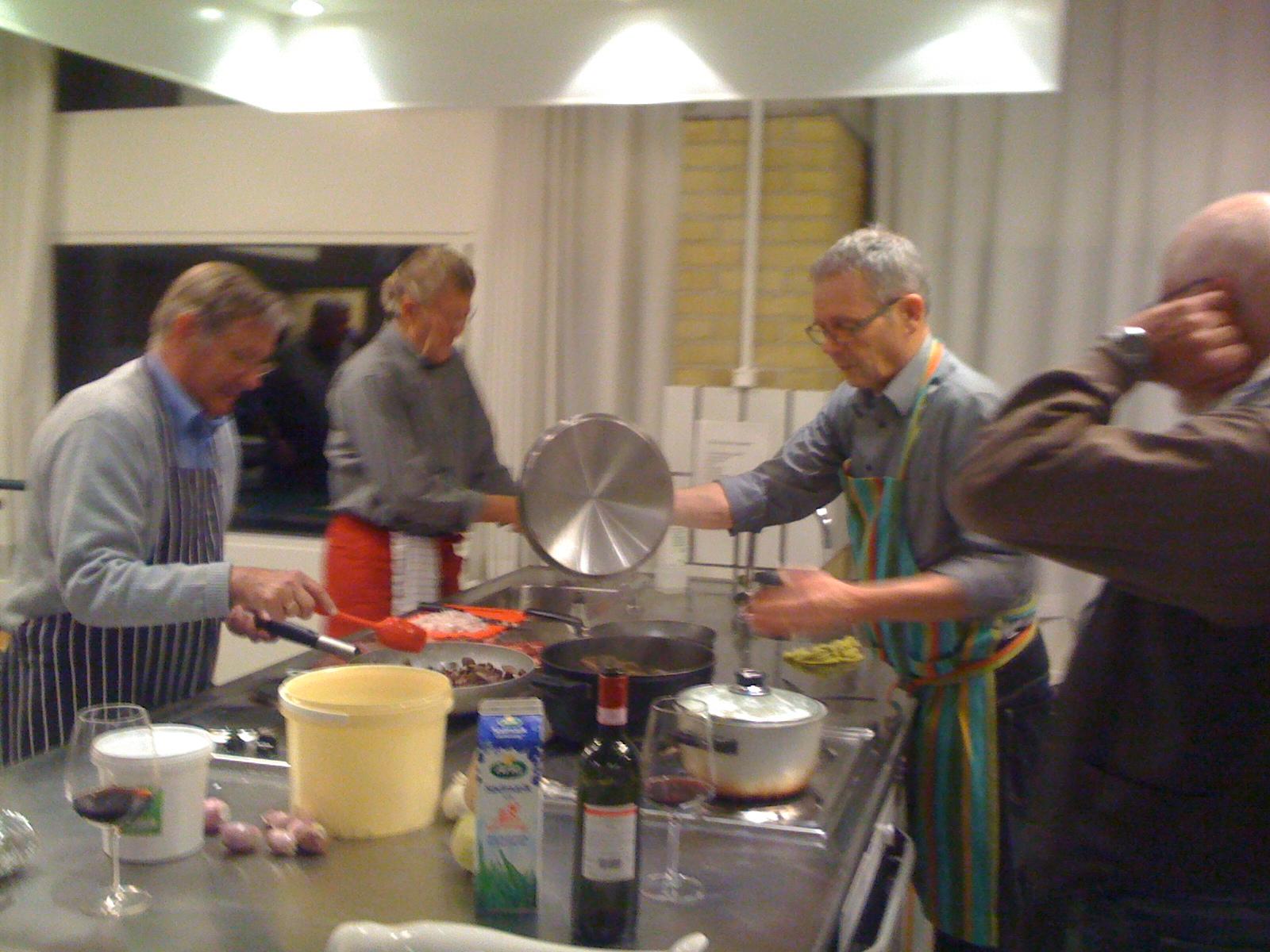 finere madlavning for herrer